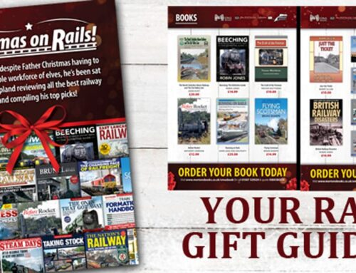 MORTONS BOOKS LAUNCHES BUMPER RAILWAY GIFT GUIDE FOR CHRISTMAS
