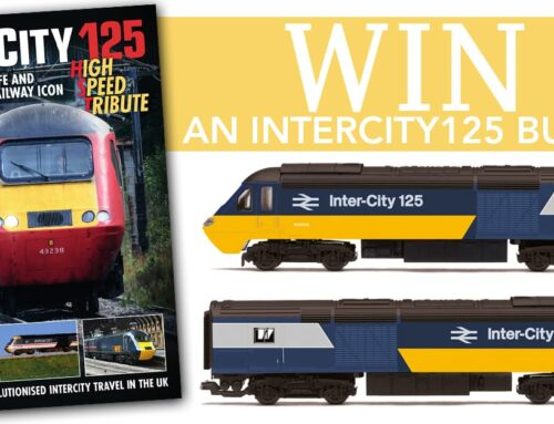 WIN THIS SUPERB INTERCITY 125 BUNDLE!