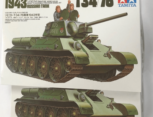 Three chances to win a copy of 'Designing the T-34' and one of these great Tamiya models kits!